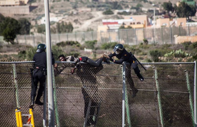 Spanish Southern Border: Human Rights Violations by Private Companies