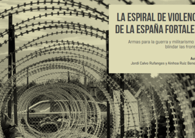 THE SPIRAL OF VIOLENCE IN THE SPANISH FORTRESS: ARMS TRADE AND MILITARISM TO SHIELD BORDERS